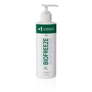 Biofreeze Classic Pain Relief Gel 8 oz. Bottle with Pump