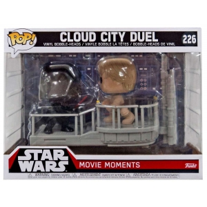 Funko Pop! Star Wars Movie Moments Cloud City Duel 2-pk Darth Vader - Luke Skyalker