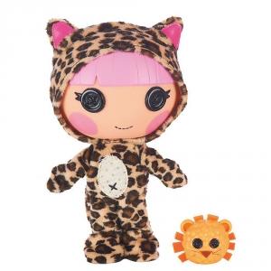 Lalaloopsy Littles Doll Kat's Little Sister Whiskers Lion's Roar