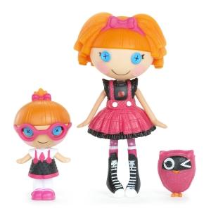 Lalaloopsy Mini Littles Doll Bea Spells-A-Lot Specs Reads-A-Lot