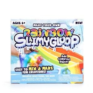 Make Your Own Rainbow SlimyGloop