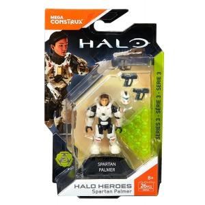 Mega Construx Halo Heroes Spartan Palmer Figure