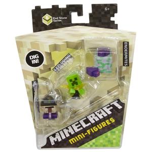 Minecraft Mini Figure Potion Witch Exploding Creeper Endermites