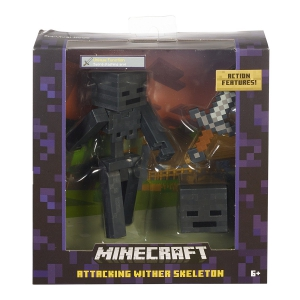 Minecraft Wither Skeleton Figure