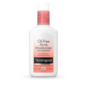 Neutrogena Oil-Free Facial Moisturizer for Acne with Salicylic Acid Acne Treatment