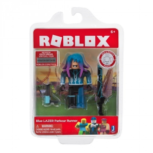 Roblox Blue Lazer Parkour Runner Figure