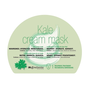 iN.gredients Kale Cream Mask Green