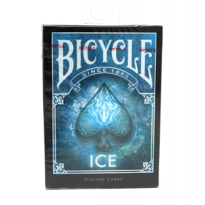 Bicycle Ice Theme Blue Playing Cards