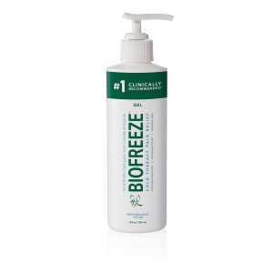 Biofreeze Classic Pain Relief Gel 8 oz. Bottle with Pump