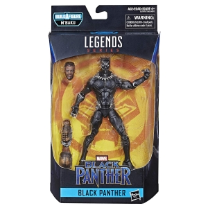 Marvel Legends Series Black Panther Figure Brown