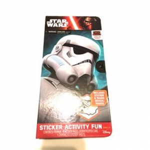 Star Wars Storm Trooper Sticker Activity Fun Portfolio Play Set