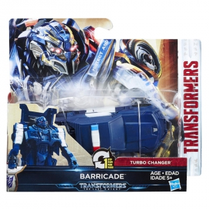 Transformers The Last Knight Turbo Changer 4.25 inch - Cyberfire