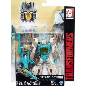 Transformers Titans Return Brainstorm and Autobot Teslor