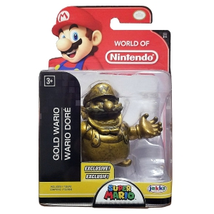 World of Nintendo Gold Wario Exclusive