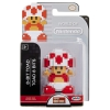Mario 8 Bit Red and White Toad